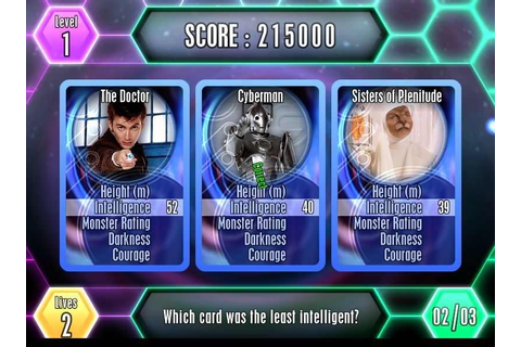 Top Trumps Doctor Who Download Free Full Game | Speed-New