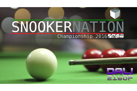 Snooker Nation Championship 2016 PC UltraHD 4K Gameplay ...