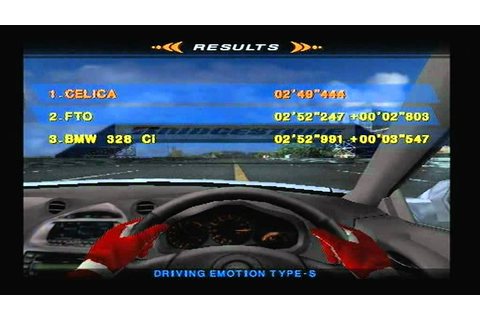 Driving Emotion-S (PS2) - YouTube