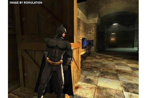 Batman Begins (USA) Nintendo GameCube / NGC ISO Download ...