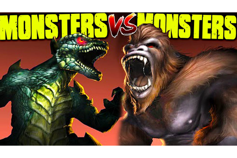 KONG & GODZILLA TEAM UP, BEST MONSTER GAME EVER - War of ...