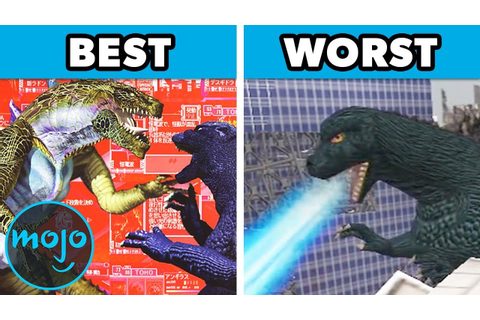 Top 10 Best and Worst Godzilla Games - YouTube