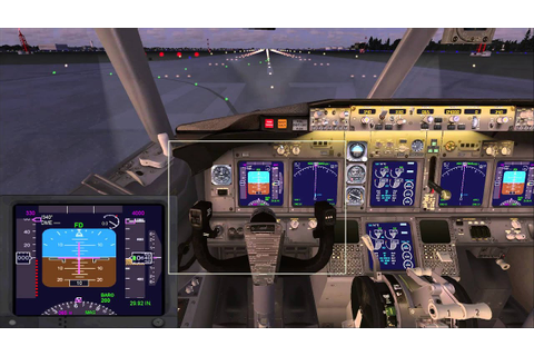 Microsoft Flight Simulator X взлет - YouTube