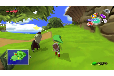 The Legend Of Zelda: The Wind Waker Windfall Island ...