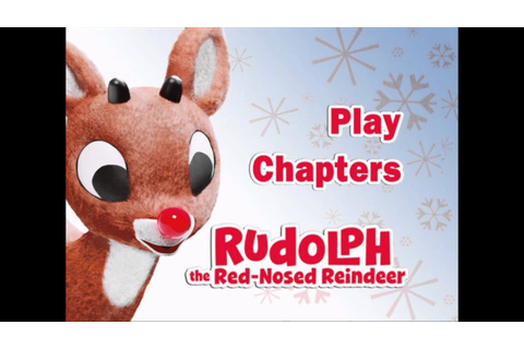 Rudolph The Red-Nosed Reindeer - UK DVD Menu - YouTube