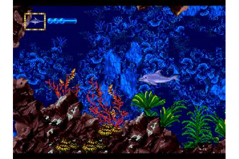 Mega Drive Longplay [237] Ecco Jr. - YouTube