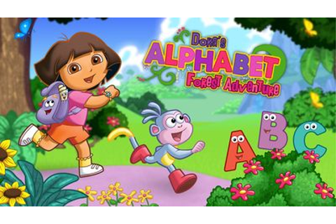 Dora the Explorer: gioca con Dora's Alphabet Forest ...