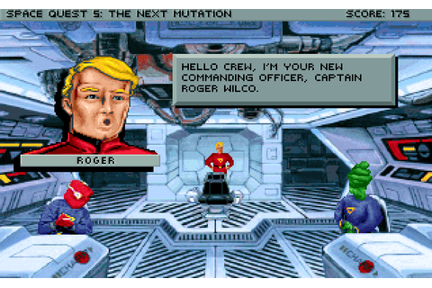 Abandonware Games / Space Quest V The Next Mutation