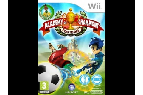 Academy Of Champions Football - Nintendo Wii - WiiQUEST ...