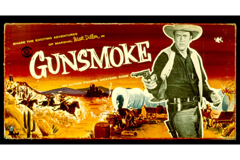 Board Game | Gunsmoke gang