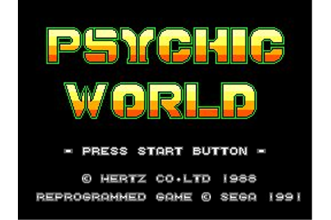 8-Bit City: Psychic World