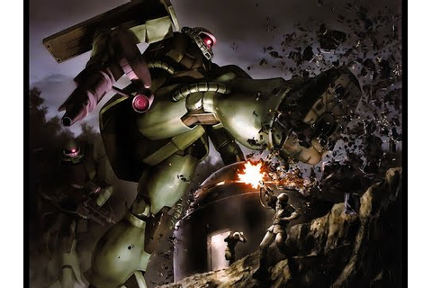 MS-06 Zaku II - Mobile Suit Gundam Battle Operation - YouTube