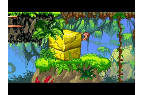Jugando a Tarzan Return to the jungle GBA Parte 2 - YouTube