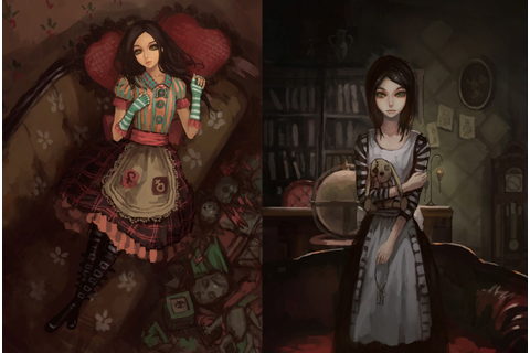 video Games, Artwork, American McGees Alice, Alice ...