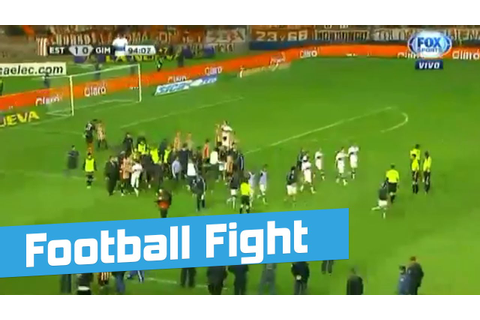 Huge Brawl Fight Breaks Out At Football, Soccer Friendly ...