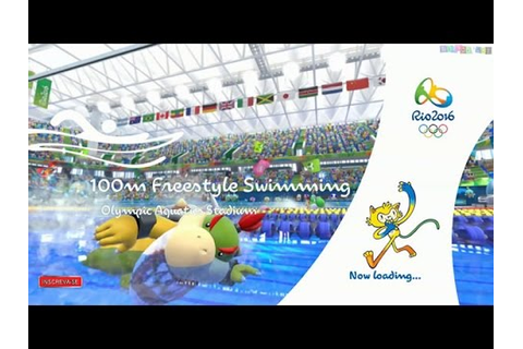 Mario & Sonic at the Rio 2016 Olympic Games: 100 Metros ...