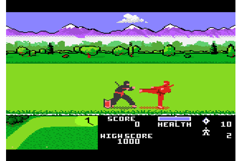 Ninja Golf (1989) by Atari Atari 7800 game