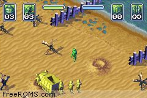Army Men - Operation Green ROM Download for Gameboy Advance