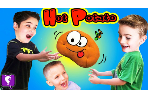 Toss the Musical Hot Potato Game! Don't Get Chipped - YouTube