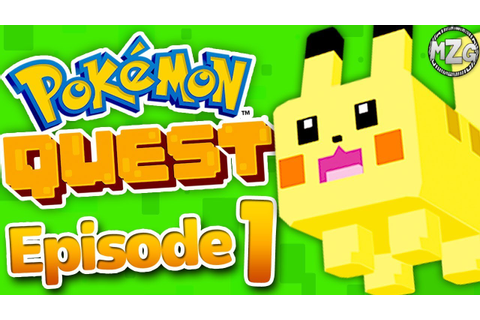 NEW POKEMON Game!? - Pokemon Quest Gameplay Walkthrough ...