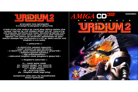RGCD: Uridium 2 (Amiga CD32) [Keyboard Required]