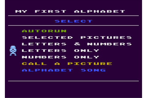 Download My First Alphabet (Atari 8-bit) - My Abandonware