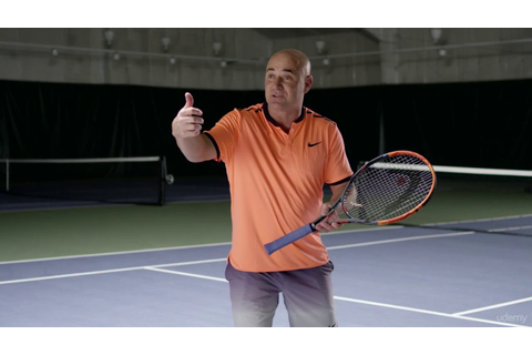 Elevate Your Tennis Game: Learn from Champion Andre Agassi ...