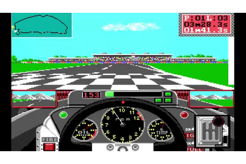 Grand Prix Circuit DOS PC Game [Let's Play] |#3| - Meine ...