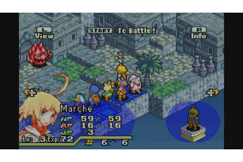 Final Fantasy Tactics Advance (GBA / Game Boy Advance ...