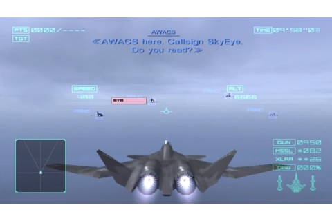 Ace Combat: Distant Thunder (Europe) PS2 ISO - CDRomance