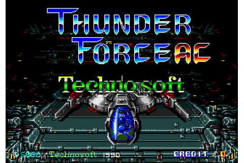 Nostalgia Games Tag thunderforce ac | Nostalgia Games