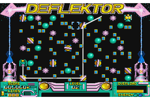 Deflektor (1988) by Gremlin Graphics Amiga game