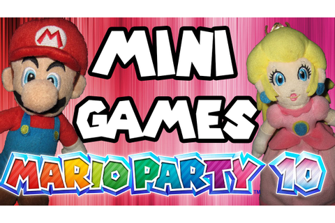 ABM: Mario Party 10 Mini Games HD - YouTube