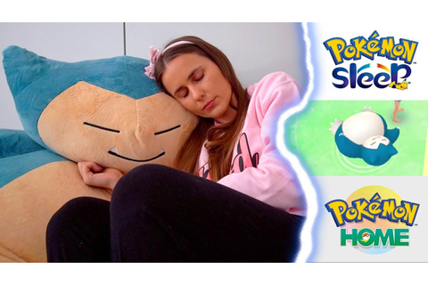 NEW POKÉMON SLEEP GAME? Pokémon Home & Sleepy Snorlax in ...