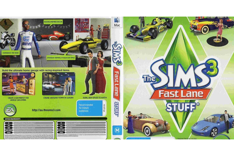 The Sims 3 Fast Lane Stuff - ANAQIN GAME'S
