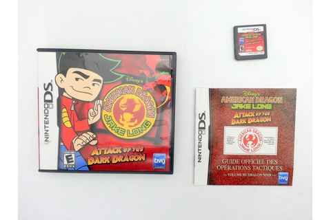 American Dragon Jake Long Attack of the Dark Dragon game ...