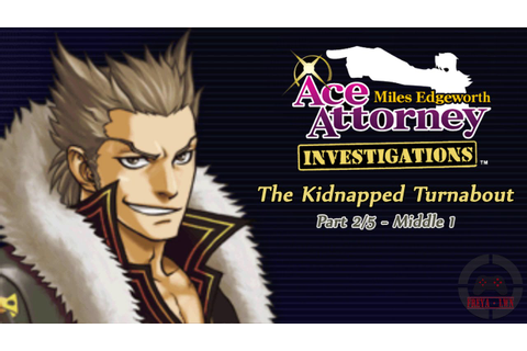 Ace Attorney Investigations: Miles Edgeworth Gameplay - Ep ...