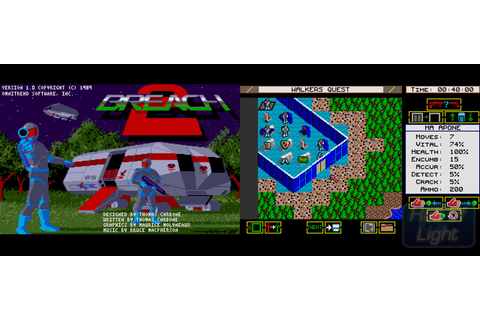 Breach 2 : Hall Of Light – The database of Amiga games