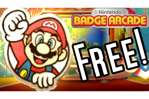 How to Get FREE Super Mario BADGES - Nintendo Badge Arcade ...