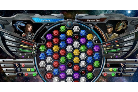 Browser Game: Match Space Gems In Puzzle Quest: Galactrix ...