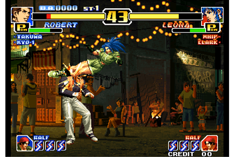Play Arcade The King of Fighters '99 - Millennium Battle ...