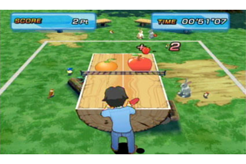 Family Table Tennis Review for the Nintendo Wii