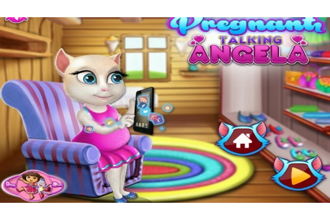 Pregnant Talking Angela's Shopping(talking angels games ...