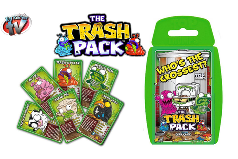 The Trash Pack Top Trumps Card Game Toy Review, Winning ...