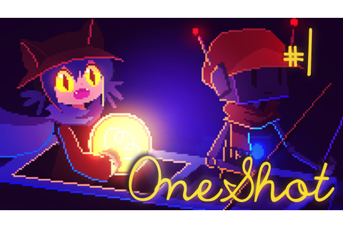 Let's Play OneShot | Surreal RPG Maker Adventure #1 - YouTube