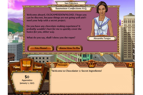 Chocolatier 2: Secret Ingredients Download - Old Games ...