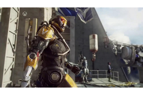 BioWare's Anthem Running On Xbox One X - E3 2017 ...