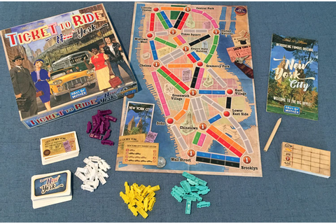 Ticket to Ride: New York board game review - The Board ...