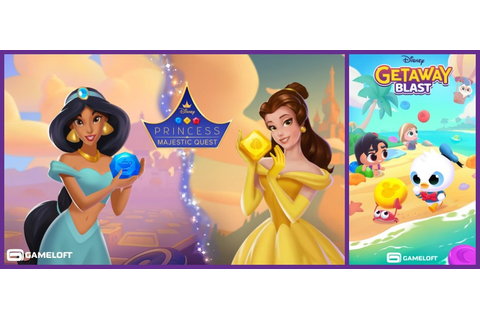 Gameloft Announces Two New Disney Mobile Games Launching ...