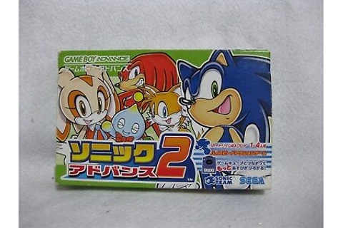 Sonic Advance 2 With Special Card Boxed GBA Game Boy ...